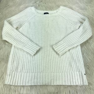 AEO Metallic Weave Pull Over Jegging Sweater